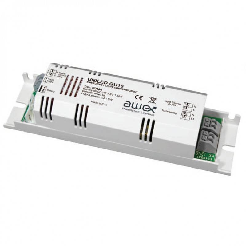 Kit de conversão a luminária de emergência LED 1-9W