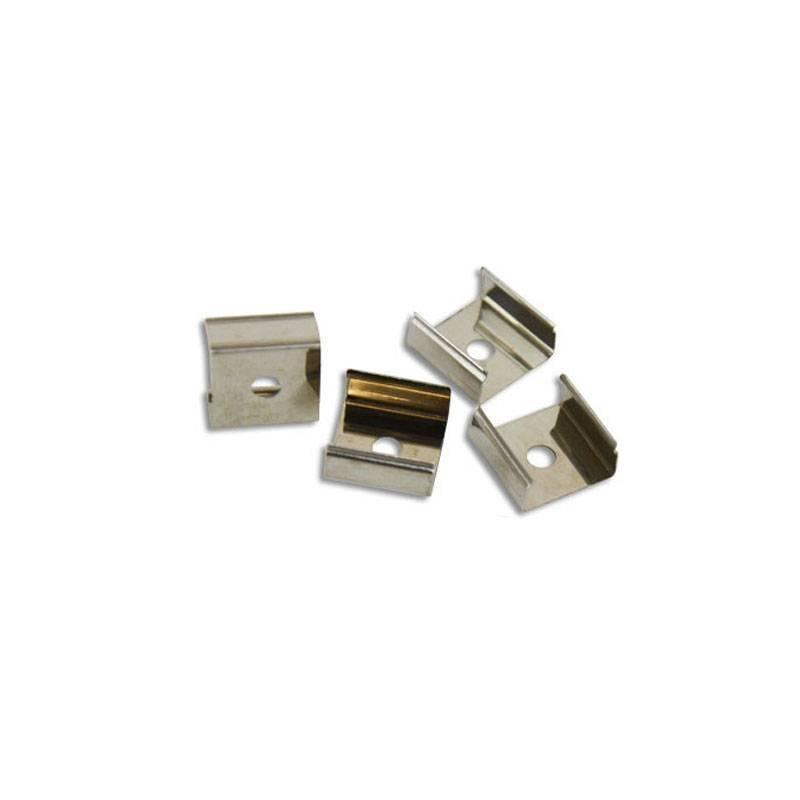Grampo metálico para fixação Néon Flex LED 24V