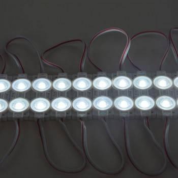 Cadeia de 20 módulos LED  2xSMD2835 1.2W 12V IP65