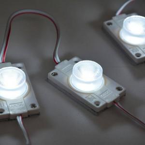 Cadeia de 20 módulos LED para rotulação SMD3535 3W 12V IP65