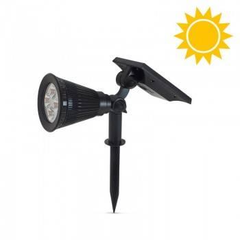 Refletor Solar com estaca para jardim 2W
