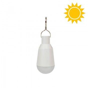 Lâmpada LED portátil 2W de carga solar