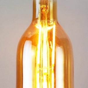 Lâmpada LED Vintage de filamento com forma de garrafa E27 7.2W