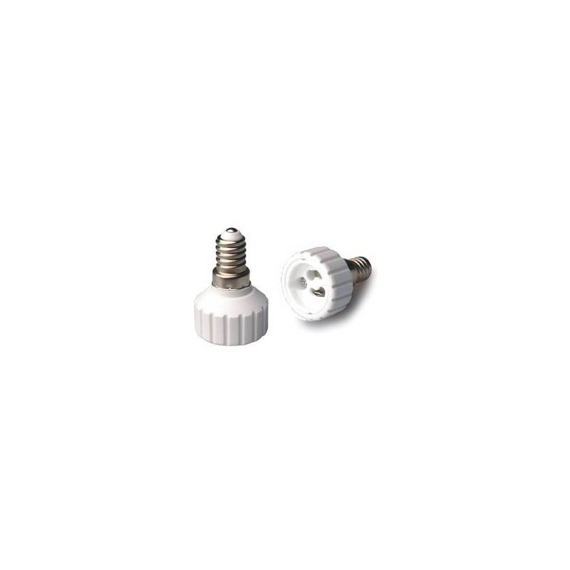 Adaptador de rosca E14 a GU10