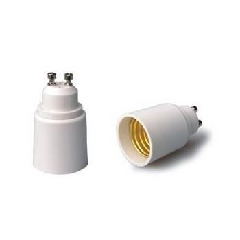 Adaptador de GU10 a rosca E27