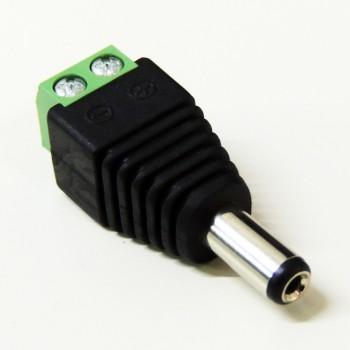 Conector ficha DC macho 12/24V