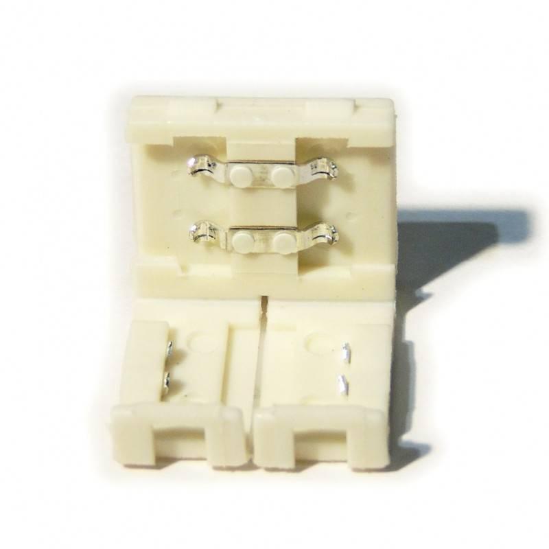 Conector para fitas LED 12V monocor 8mm direto sem cabo