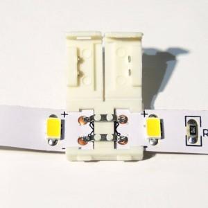 Conector para fitas LED 12V monocor 1cm
