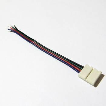 Conector de fita LED 12V RGB 1cm de cabo