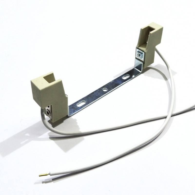Porta-lâmpada para lâmpada linear R7S 138mm
