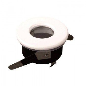 Aro CLICK Encastrável Estanque IP54 Ø70/85mm cor branco
