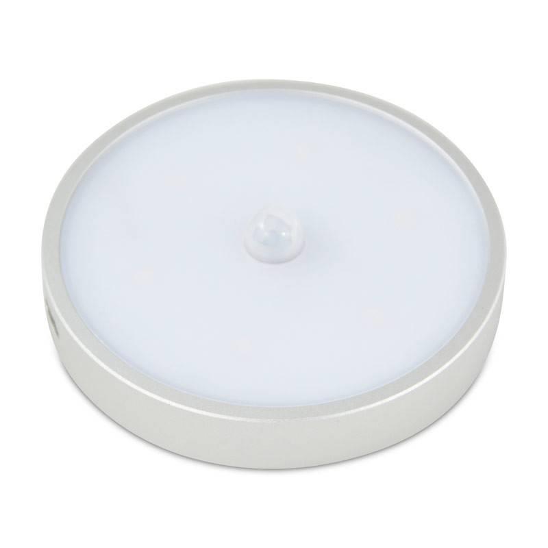 Luminária para armários LED 0,9W com bateria