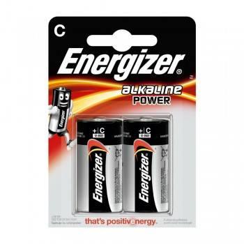 Pilha Energizer Alkaline Power LR14 (C) Blister de 2 Un.