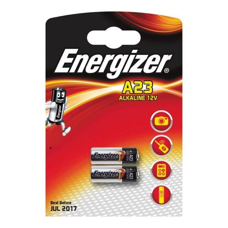 Pilha Energizer E23A Blister de 2 Um.