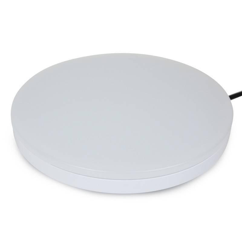 Plafón LED 36W de superfície circular branco IP20
