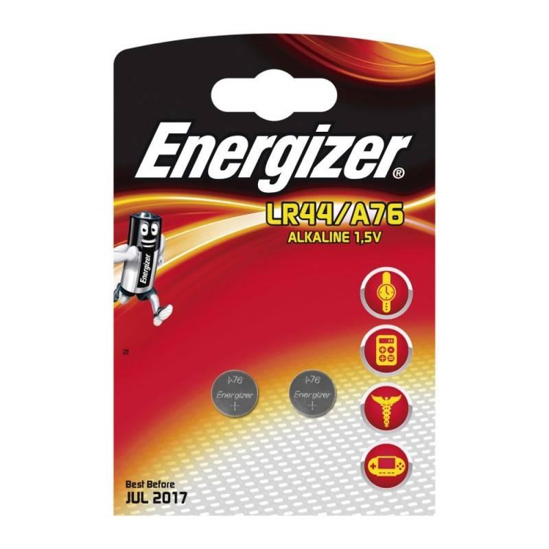 Pilha Energizer A76/LR44 Blister de 2Un.