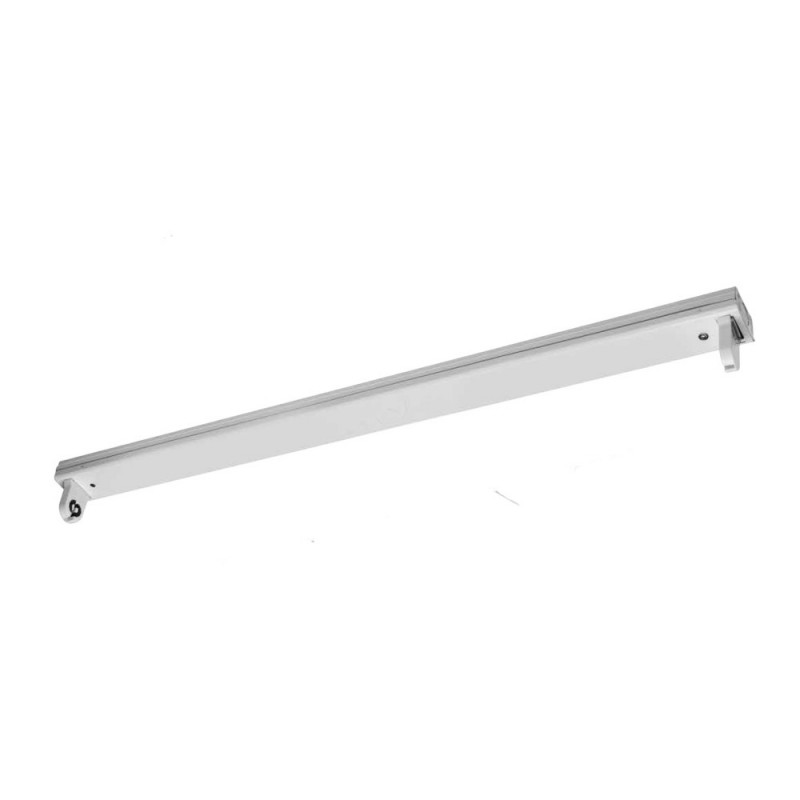 Régua Porta-tubos para tubo LED T8 G13 DE 120cm