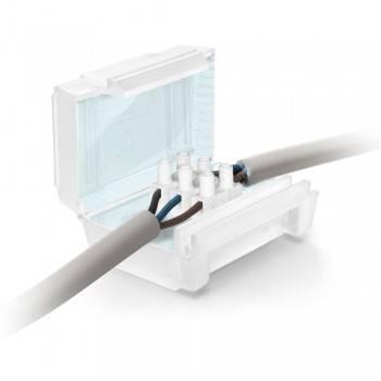 CAIXA ISOLANTE ESTANQUE IP68 COM GEL INCORPORADO PARA RÉGUA 3X6MM2 - CONECTORES NÃO INCL.