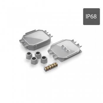Caixa de ligações estanque Readybox 120 com gel isolante integrado IP68 com 5 conectores 6MM2