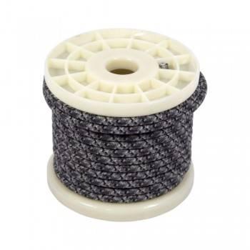 Cabo elétrico decorativo têxtil estilo nórdico 2X0,75 estampado cinzento tweed