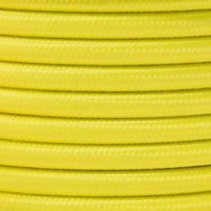 Cabo elétrico decorativo têxtil 2x0,75 cores flúor