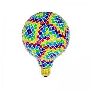 Lâmpada LED Globo E27 G130 design mosaico BARCELONA