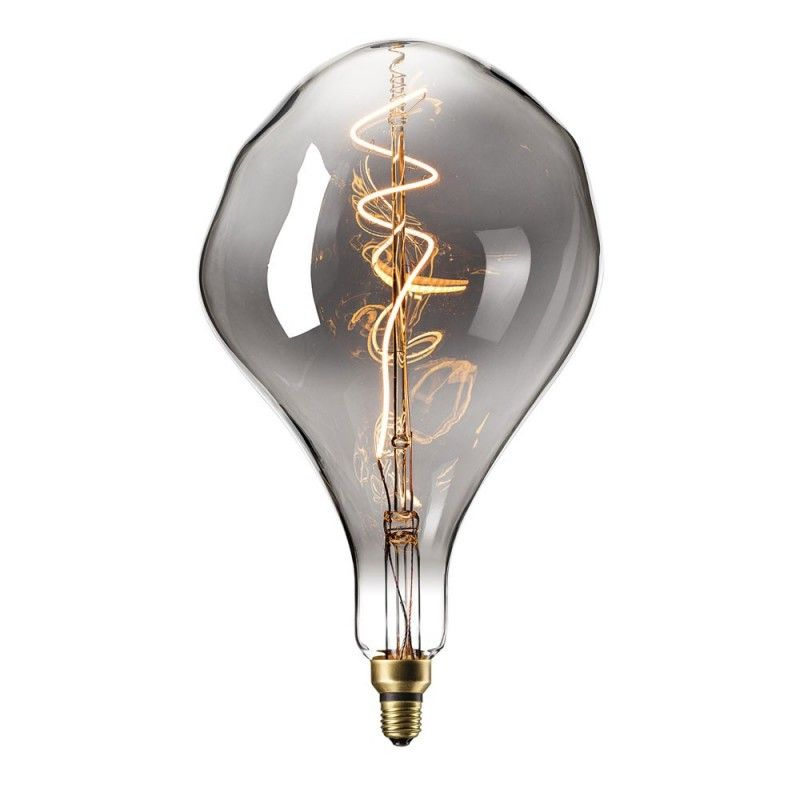Lâmpada LED de filamento lágrima A166 E27 4W