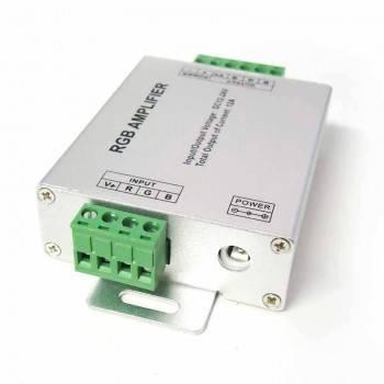 Repetidor RGB 12 Amperes - 12/24V-DC