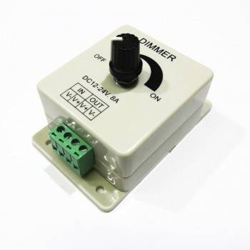 Dimmer para fita LED monocor 12V/24V
