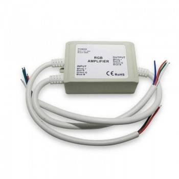 Repetidor RGB estanque 12-24V-DC 4A/canal IP65