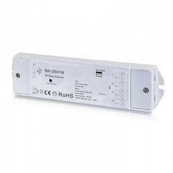Regulador monocor PWM 12-36V-DC (4 canais, 5A/Canal) recetor RF