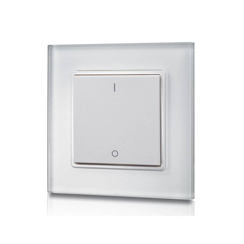 Botão regulador de iluminação monocor por radiofrequência