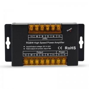 Repetidor RGBW 12/24V-DC 8A/Canal (Caixa Alumínio)