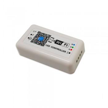 CONTROLADOR RGB WIFI 12-24V PARA IOS/ANDROID COMPATÍVEL COM ALEXA/GOOGLE HOME
