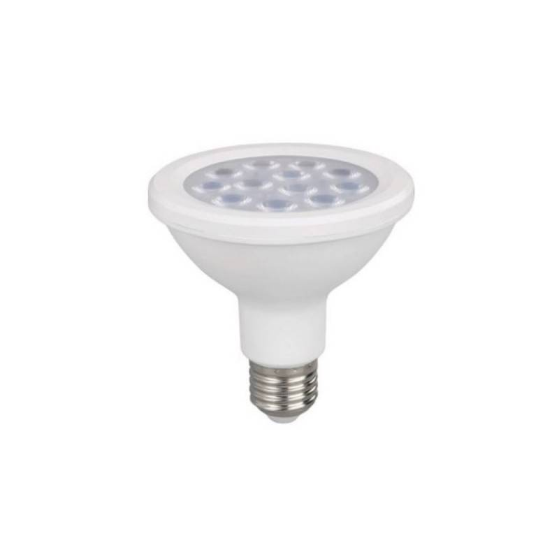 Lâmpada LED PAR30 E27 12W IP65
