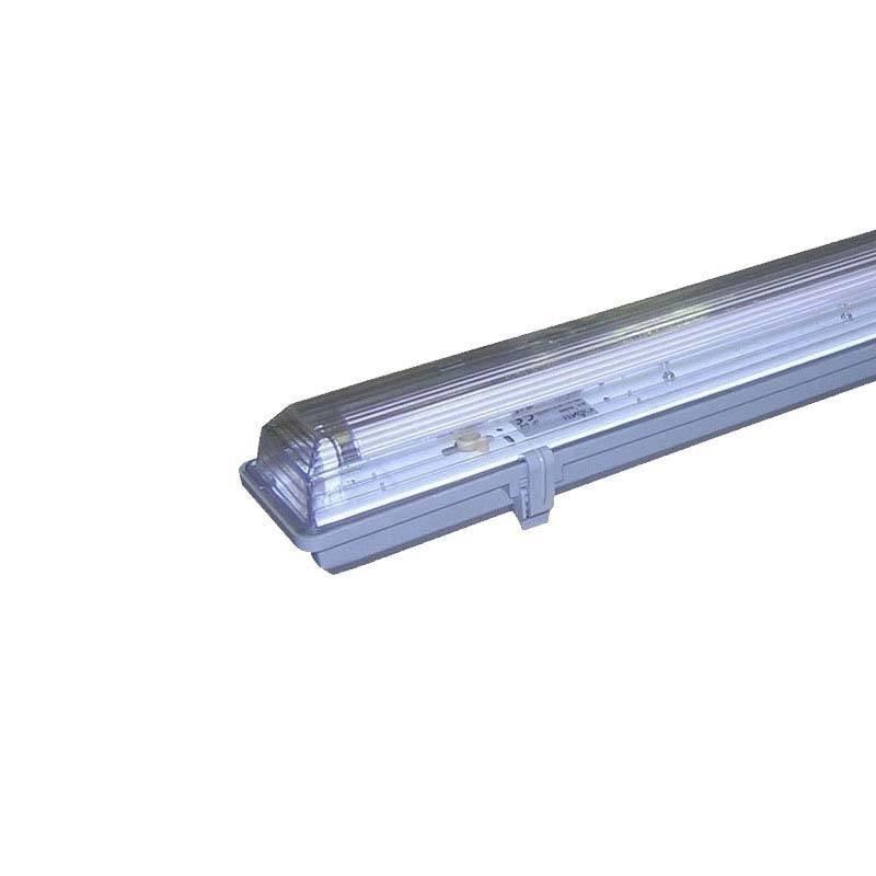 Armadura barra estanque para 1 tubo LED T8 150cm