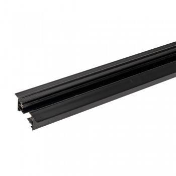 Carril monofásico encastrável para focos LED - barra 2 metros