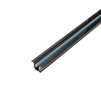 Carril trifásica encastrável para focos LED - barra 2 metros