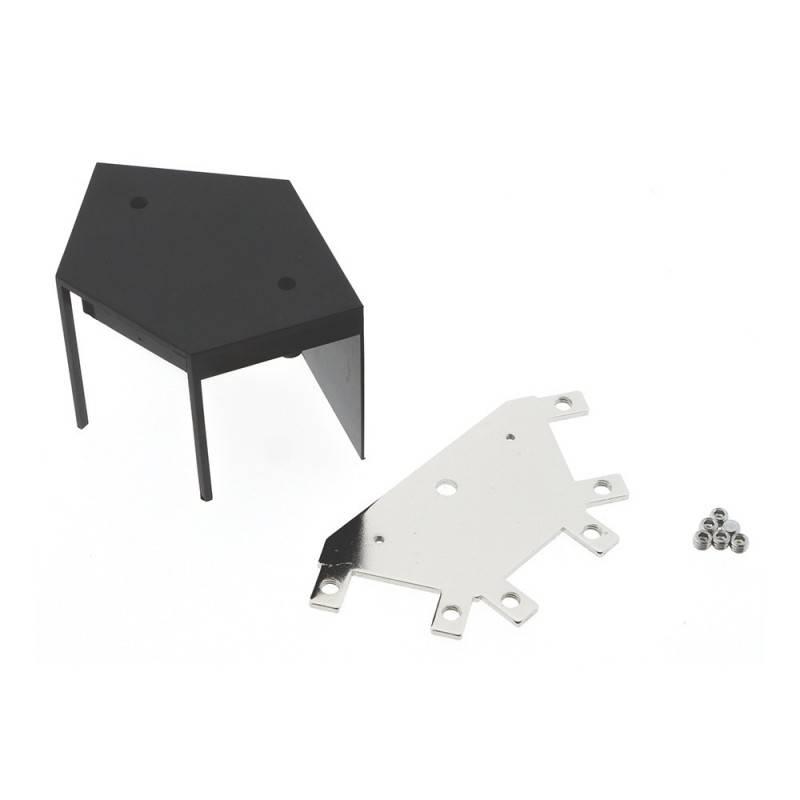 Conector de vértice 60° para linear de suspensão LED Ref. B9010/B9020/B9030