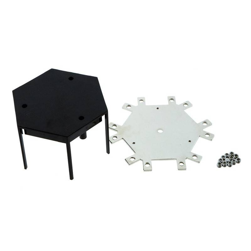 Conector central 60° para linear de suspensão LED Ref. B9010/B9020/B9030