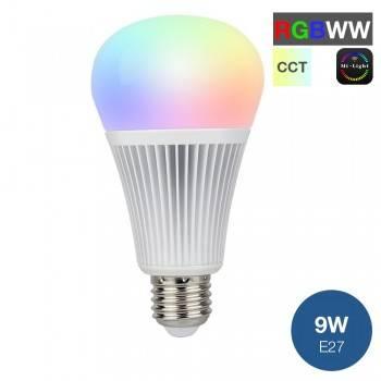 Lâmpada LED MiLight RGB+CCT E27 9W 850LM