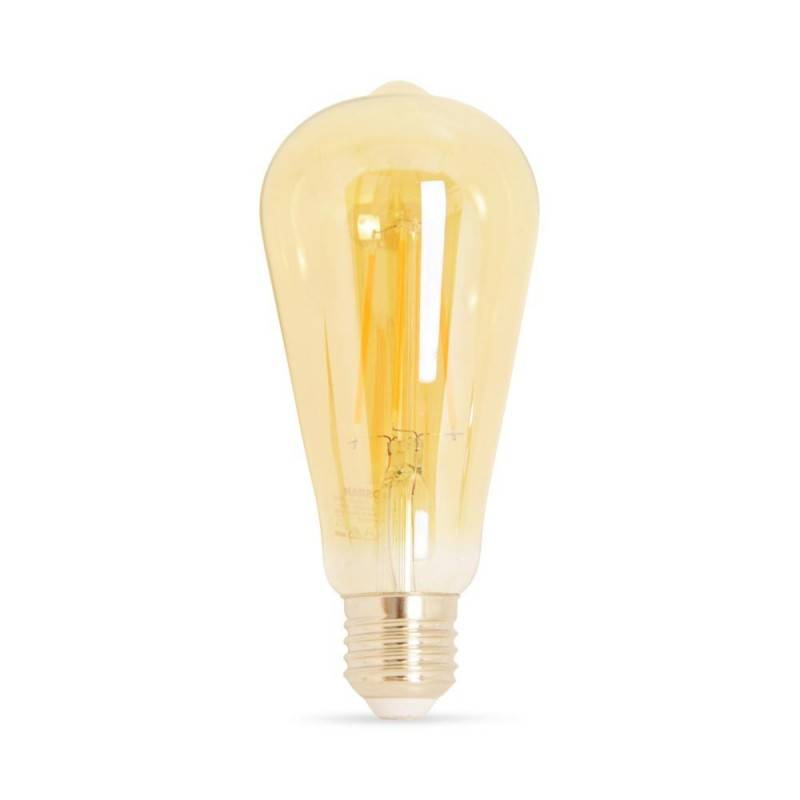 Lâmpada Vintage LED OSRAM 1906 Edison ST64 E27 7,5W regulável