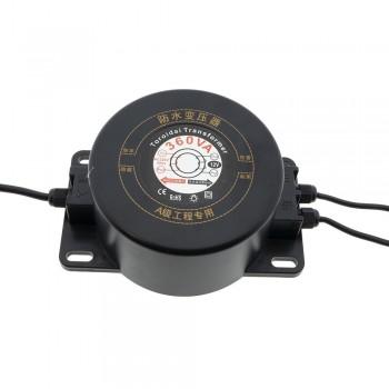 Transformador estanque 12V-AC 360W IP67 à prova de água