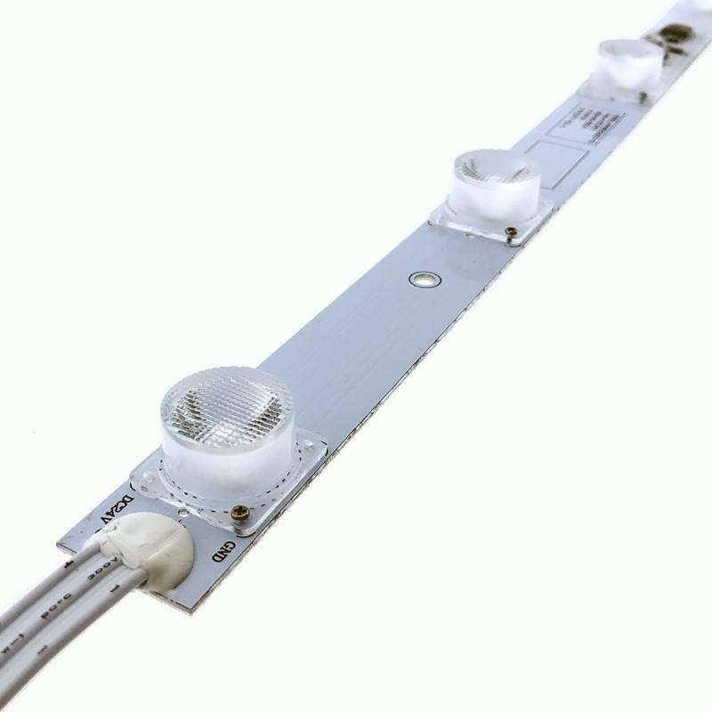 Faixa LED rígida 50cm 15W 24V-DC para rotulação frente e verso IP65