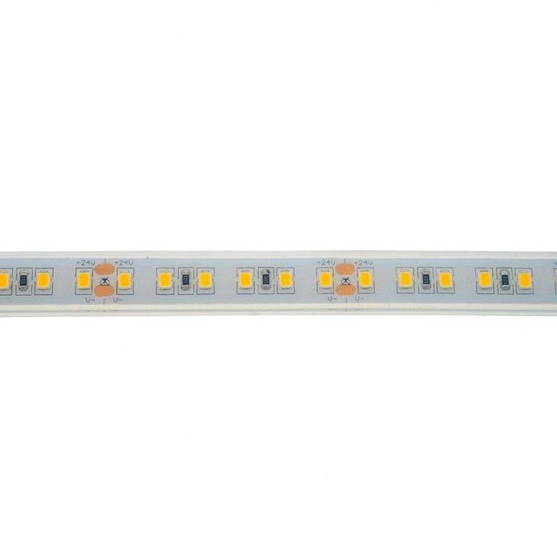 Faixa de LED 24V-DC 18W/m monocor IP67 (SMD2835 120ch/m) Rolo 5 metros