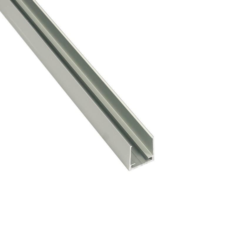 Perfil de alumínio 22x19mm de superfície para néon flexível de LED (2m)