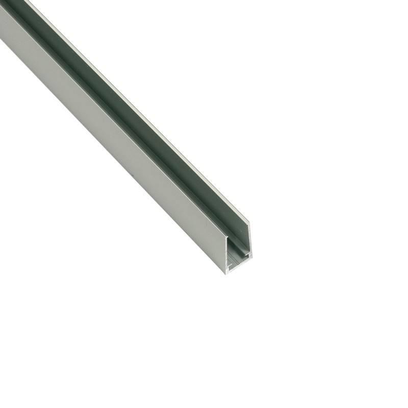 Perfil de alumínio 25x14mm se superfície para néon LED flexível (2m)