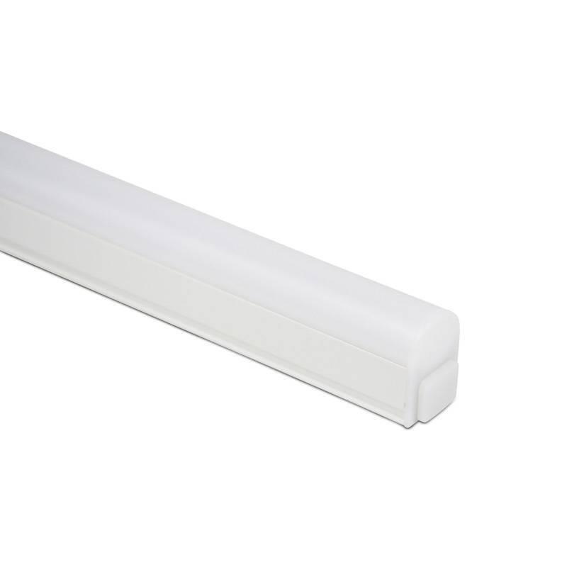 Régua com tubo integrado LED T5 120 cm 14W opalino