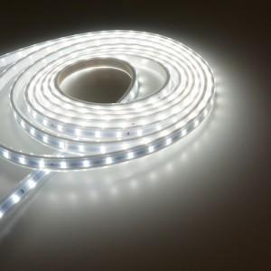 Fita de LED 230V branca impermeável IP65 Qualidade PREMIUM - Rolo 20m.