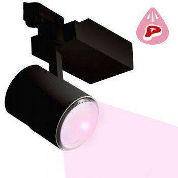 Projetor LED 30W Carril monofásico para talhos